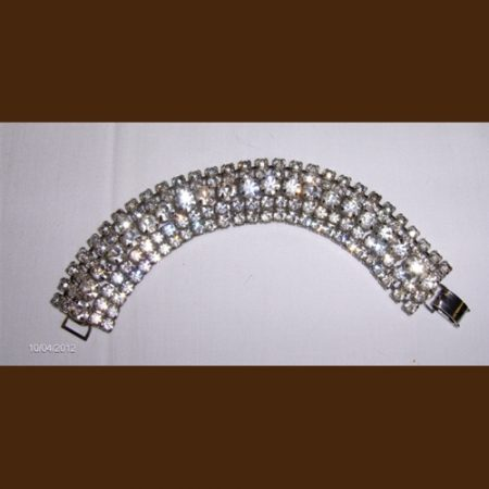 Rhinestone Antique Bracelet